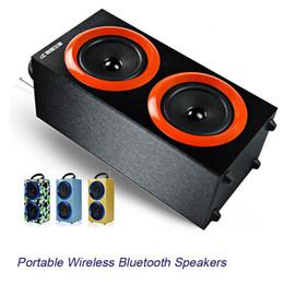 Wholesale Luxury Mini Bluetooth Speaker - 2016 Portable Wireless Bluetooth Speakers Outdoor Sports Handsfree with Mic Support TF Card FM Radio Luxury Loud Speakers MIS130