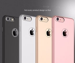 Wholesale Tough Cameras - ultra thin original pu leather matte Case For iPhone 7 Plus 6 6S SAMSUNG note7 Protective Camera Back Cover light iphone7 skin Tough coque