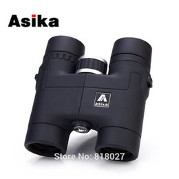Wholesale Quality Stability - Original Asika 8x32 Binoculars telescope HD high quality telescopio binoculo BAK4 prism Roof Prism Fully Multi-Coated 4 colors
