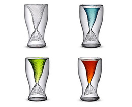 Wholesale Europe Retail - Free Shipping Creative Crystal Mermaid Cocktail Glass Cup Drinking Mug Original Design for Wholesales and Retail