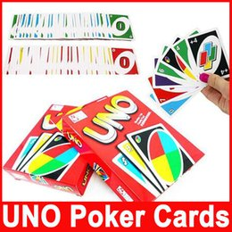 Wholesale Playing Cards Puzzle - Popular UNO Card One Pack of 108pcs Standard Fun Game Edition Family Children Friends Playing Funny Puzzle Cards for Travel