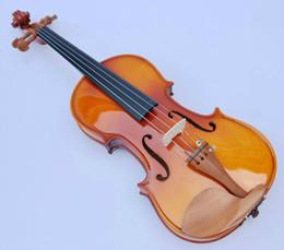 Wholesale Wood Handcraft - 1 8 1 4 1 2 3 4 4 4 Spruce violin handcraft violino Musical Instruments violin bow violin strings case