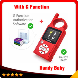 Wholesale hyundai hold - Original Handy Baby Hand-held Car Key Copy Auto Key Programmer for 4D 46 48 Chips + G Chip Copy Function Authorization DHL free