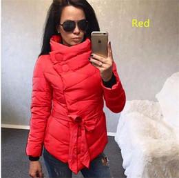 Wholesale Sexy Long Women S Coat - 2017 Hot sales winter jacket women Long sleeves Warm Outerwear Sexy Solid color bow-knot belt women woolen coat size S-3XL