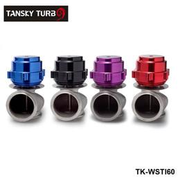 Wholesale intakes honda - Tansky-Universal Racing Billet Aluminum Car 60MM Vband V60 Turbo Wastegate For Honda Mazda Toyota TK-WSTIAL60