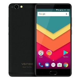 Wholesale Dual Sim Chinese Mobile Phones - Vernee Thor Plus 4G Android 7.0 Smartphone 5.5inch MT6753 Octa Core Cellphone 3GB RAM 32GB ROM 13.0MP 6200mAh Mobile Phone