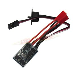 Wholesale Esc Brush Rc - RC 10A ESC Brushed Speed Controller w o Brake for 1 16 1 18 1 24 Car Boat Tank