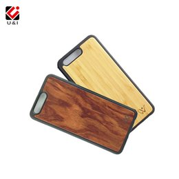 Wholesale Light Protectors - Bamboo Case for Huawei P10 P10 Plus Full Body TPU Edge Wood Cell Mobile Phone Protector Cover 5.5, 5.8 Inch Housing