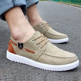 Wholesale Korean Shoes For Male - Summer 2016 England Flat Canvas Shoe Korean Hip Hop Fashion Lazy Shoe for Men Breathable Casual Shoe Male