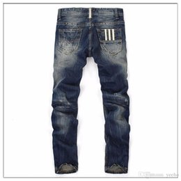 Wholesale Motorbike Jeans - Men's Motorbike Motocross Off-Road Knee Protective Moto Jeans Trousers Windproof Motorcycle Racing Jeans Casual Pants JS-029