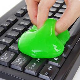 Чистые ноутбуки онлайн-Wholesal 1 шт высокотехнологичный волшебный пылесос смесь супер чистый слизистый гель для телефона клавиатура портативного компьютера