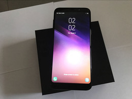 Wholesale Cheapest Android Dual Core - Cheapest Goophone S8 S8 Plus 6.2inch MTK6580 Quad Core 1G RAM 4G ROM Android 7.0 Curve Screen 8MP Show 4G LTE 4GB 64GB Unlocked Smartphone