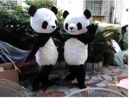 Wholesale Mascot China - Panda bear Mascot Costume Costume Adult Size suit Carnival Party Dress China panda Mascot Costume Free shipping high quality