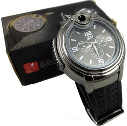 Wholesale Gas Lighter Watch - Collectible Watch Cigarette Butane Gas Lighters Watch Lighter Cigarette lighter also offer torch jet usb arc lighter great