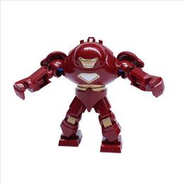 Wholesale Decool Iron Man - Hot sale! Decool figures 0181 Super Heroes The Avengers iron man hulk buster Action Figures Building Blocks toys