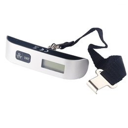 Wholesale Hanging Luggage - 50kg 10g Weight Scales LCD Display Portable Electronic Travel Hanging Lage Weighing Scale Free Shipping