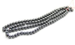 Wholesale 6mm Round Crystal Beads - Wholesale 500pcs lot AA 6mm Fashion Shamballa Balls Fit Shamballa Bracelet Necklace, Black Hematite Round Beads Loose Beads
