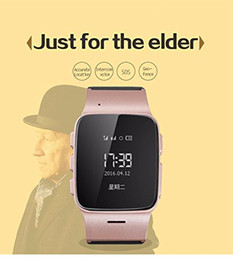 Wholesale Geofence Gps Tracker - GPS Tracker Smart Watch for Elderly Personal Google Map Call Button Geofence Alarm GSM GPRS Locator