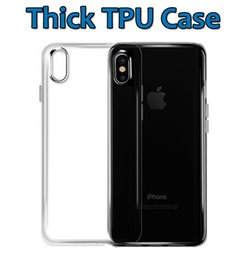 Wholesale Thick Card - For iPhone X 8 7Plus Thick TPU Case Samsung Note 8 Cases Galaxy S8 Plus Soft TPU Clear Case 1.0mm Transparent gel Case
