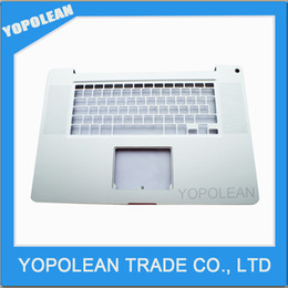 Wholesale Apple Keyboard Uk - New UK KEYBOARD FOR MACBOOK PRO 17'' A1297 PALMREST TOP CASE 2011 Year HIGH QUALITY FREE SHIPPING