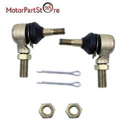 Wholesale Rod End Ball - Wholesale- Tie Rod End Kit for Yamaha Raptor 660 YFM660 YFM660R 01-05 ATV Joint Ball U-joint Tie Rod End Kit *