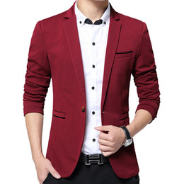 серый фланелевой костюм Скидка Wholesale- DARO uomo Fashion Dress Blazer Men Suits Men Spring&Autumn Outerwear Business Wedding Party Suits DR