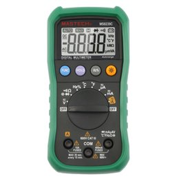 Wholesale Mastech Capacitance - 2016 MASTECH brand MS8239C Handheld Auto range Digital Multimeter AC DC Voltage Current Capacitance Frequency Temperature Tester