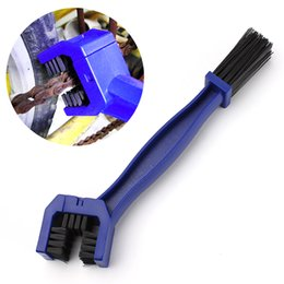 Wholesale Cycle Cleaning Brushes - Cycling Motorcycle Bicycle Bike Chain Crankset Brush Cleaner Cleaning Tool Cleaner Blue Car Accessory Free Shipping