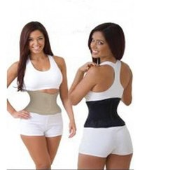 Wholesale Tummy Belt Bag - Miss Belt Waist Training Belt Instant Hour Glass Shape Look Slimmer Fit Waist Girdle Cincher Tummy Body Shaper Fitness Slimming Belt opp bag