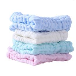 linen gauze UK - Washing gauze towel baby multi-purpose six cotton handkerchief factory direct tensile 28*28CM