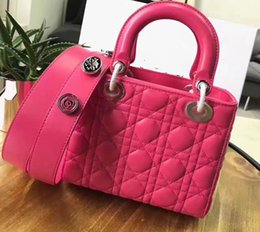 Wholesale Whosale Women - Classic sheep leather women leather totes shoulderbags with belts 20cm free shipping top quality brand style whosale and hot selling in 2017