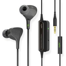 meilleurs microphones à fil Promotion Gros-233621 E602 Lite Meilleur Active Intelligent Antibruit Écouteurs HiFi 3.5mm Dans L'oreille Filaire Super Bass Écouteur Avec Microphone