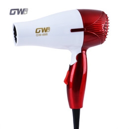 Wholesale GUOWEI Mini Hair Dryers Foldable Portable Traveller Compact Blower Hair Dryer Hot And Cold Wind Top Quality BZ