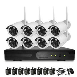 Wholesale Nvr P2p - NVR Kit 720P 960P 1080P 4CH Wifi Wireless P2P Network Video Recorder with 3G Smart phone & PC Remote W-KIT-9604