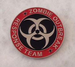 Wholesale team belt - ZOMBIE OUTBREAK RESPONSE TEAM BELT BUCKLE