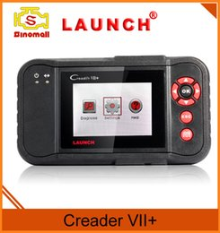 Wholesale Holden Scan - Original Launch Tech Creader VII+ 7+ OBD II code Reader Scan tool auto diagnostics Suitable for OBDII standard after 1996