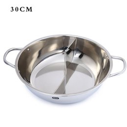 Wholesale Stainless Steel Hot Pots - Wholesale-Eco-Friendly 7 Sizes Kitchen Cooking Tools Stainless Steel Set Little Sheep Thick Duck Hot Pots For Kitchen Hotpot Cookware