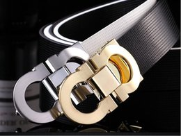 Wholesale 38 Pin - 2017 Unique Mens Belts Genuine Leather Black Pin Buckle Cowboy Belts Metal Buckle Belt Free Shipping Wholesale