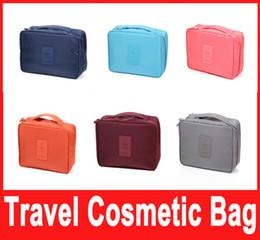 Wholesale Insert Storage - Storage Cosmetic Bag Makeup Bag Purse MP3 Mp4 Phone Travel Insert Handbag Organizer fashion bag in bag Sundry Zipper Bag
