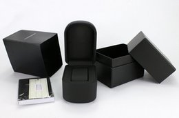 Wholesale Leatherette Jewelry Boxes - Sales Italian Fashion Brand High Quality Watch Box Luxury Quartz Watch Boxes Casual Jewelry Box Black Gift Boxs
