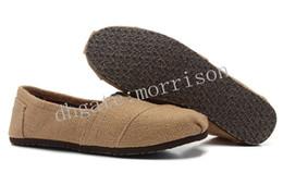 Wholesale Natural Environmental - Wholesale Brand casual shoes Men Linen Shoe Women and Men Canvas Shoes Natural linen casual shoes Environmental shoe