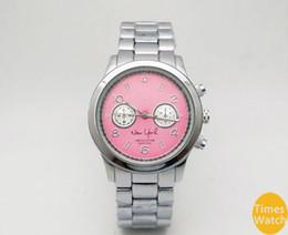 Wholesale Off Brands - 20%off Fashion M brand wristwatches men women luxury Gold stainless steel wrist Relojes Business fashion quartz watch movement silver Watch