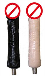 Wholesale Dildos Dongs - Sex Machine Gun Accessories Silicone Extra Large Dildo Dongs Attachments Huge Dildos Sex Machine Gun Furniture For Female