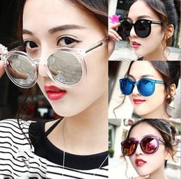 Wholesale Ladies Retro Coats - Hot sale Fashion 2016 Summer Sunglasses Retro Coating women Vintage Round Sunglasses Ladies Cool Women Retro Sun Glasses Frame