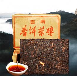 Wholesale Ripe Honey - C-PE083 Puerh Tea 100g Brick Made In 2008 Ripe Pu er Tea Oldest Puer Tea Ancestor Antique Honey Sweet Dull-red Pu'er Ancient Tree