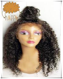 6A глубокий локон полный кружева парик бразильские волосы Glueless полный кружева человеческих волос парики с детские волосы кружева фронт парик для черных женщин от