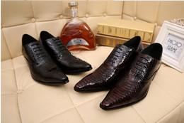 Wholesale Italian Men Shoes For Sale - Hot Sale 2015 Social Shoes For Men Leather Wedding Shoes Black Italian Leather Shoe Sapato Social Masculino Oxford Plus Size 39-46