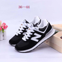 Wholesale Black N Tan - 2017 New N Sport Running Shoes For Men Women Casual Flat Shoes Sneakers Unisex Zapatillas Walking Shoes Trainers 36-44