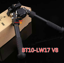 Wholesale Cnc Precision - 2017 CNC Making BT10-LW17 V8 Bipod 360 degrees Adjustable BPD AR15 Precision Bipod With QD Mount Without Markings Free Shipping
