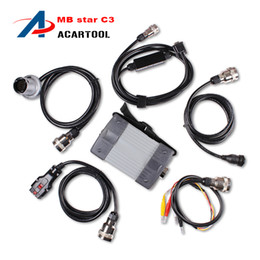 Wholesale Star C3 Diagnosis - Hot Sale Professional MB STAR C3 mb star c3 diagnosis multiplexer mb star c3 professionals tools without HDD DHL free shipping